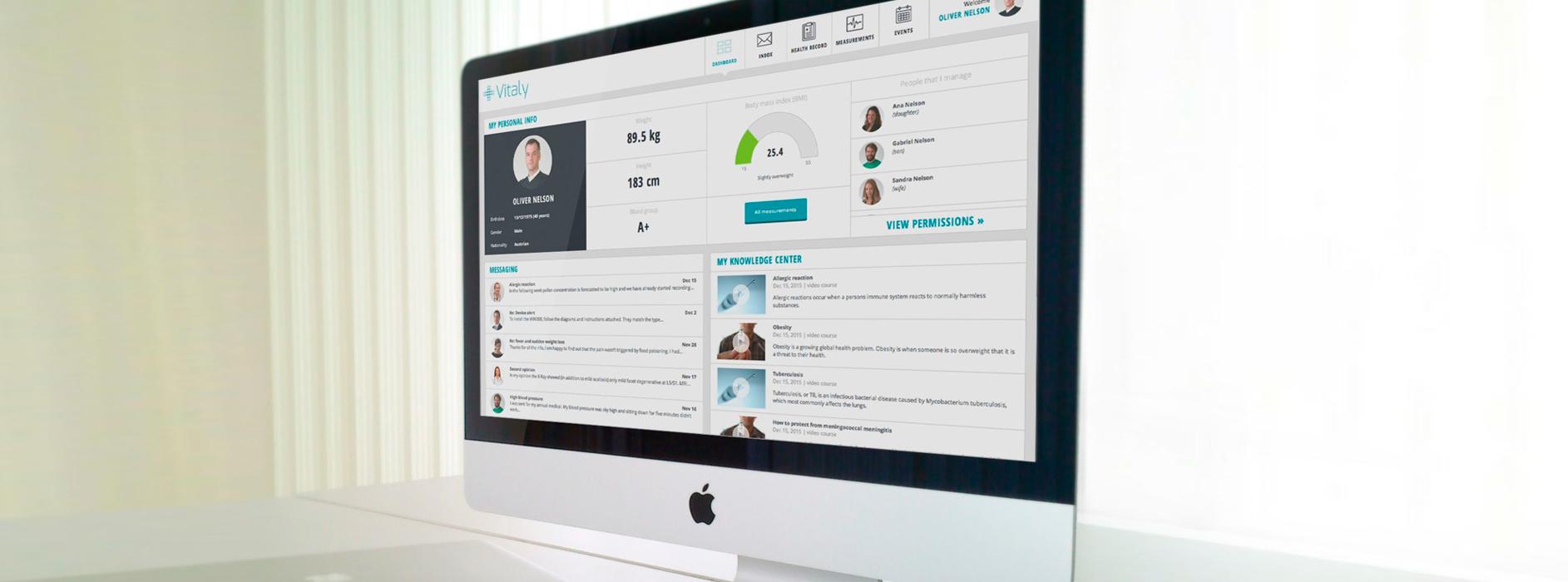 oblikovanje uporabniškega vmesnika načrtovanje uporabniške izkušnje za področje zdravstva